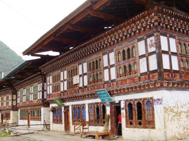 Traditional buildings in Has Valley