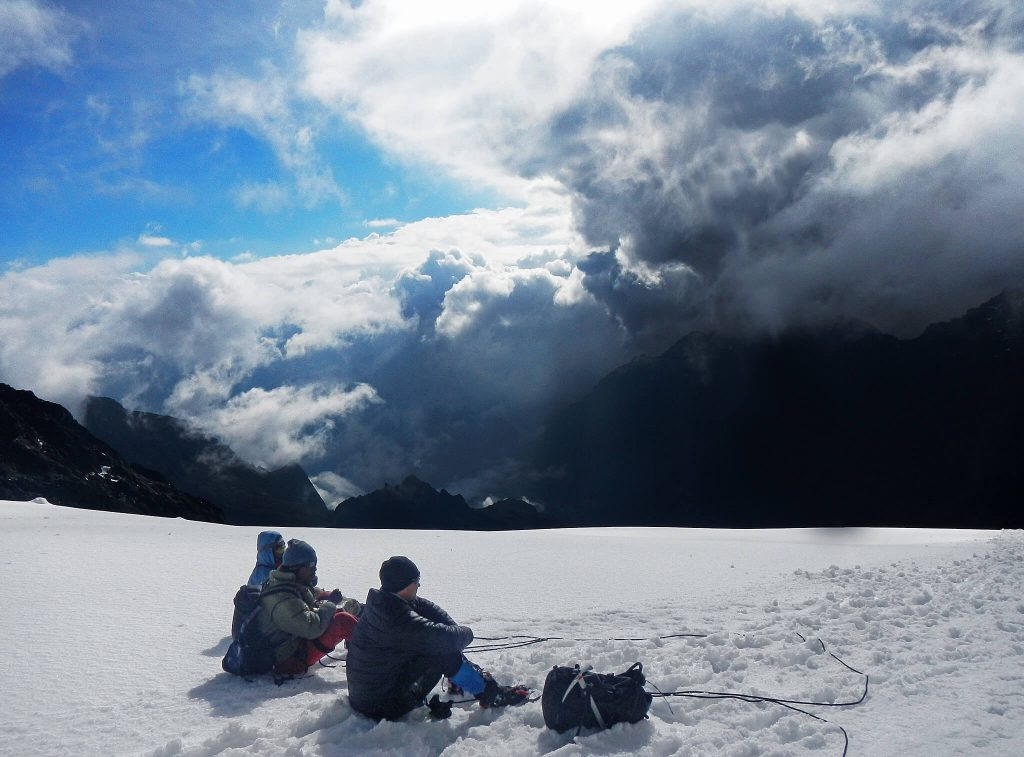 Rwenzori Mountains snow Uganda