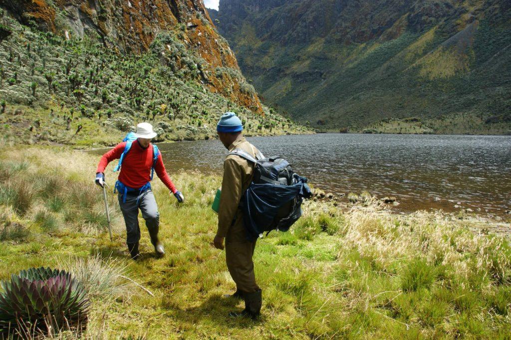 Rwenzori Mountains hiking Uganda