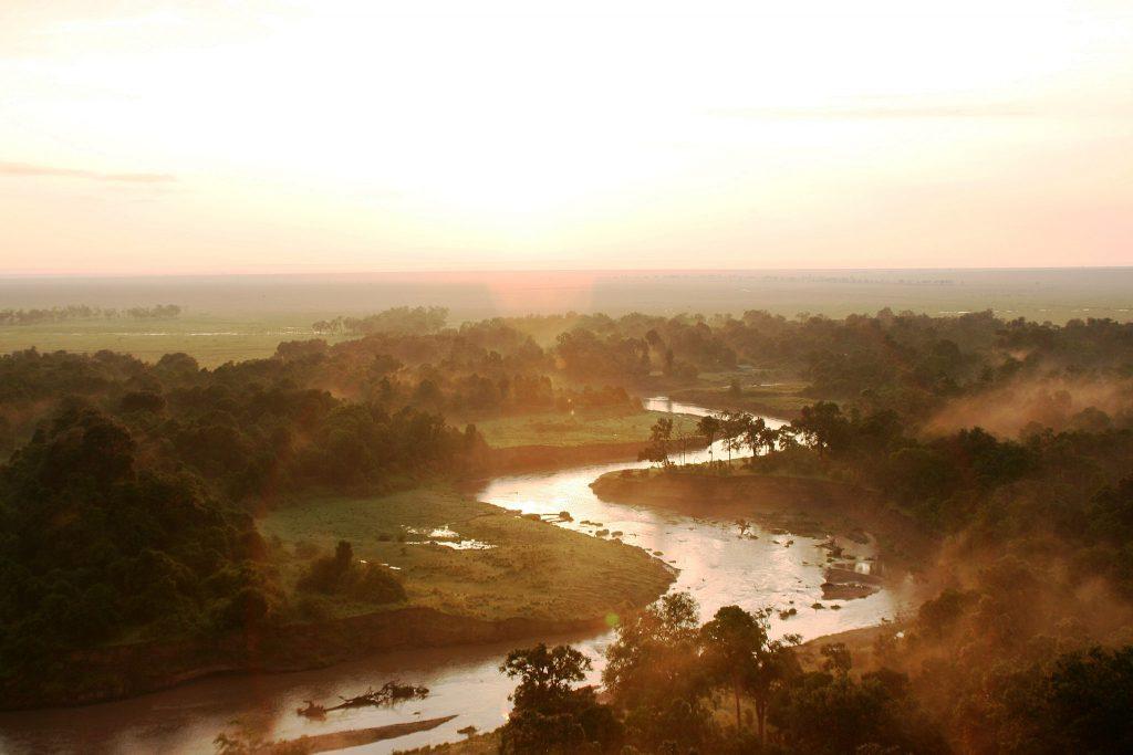 Serengeti River Tanzania safari