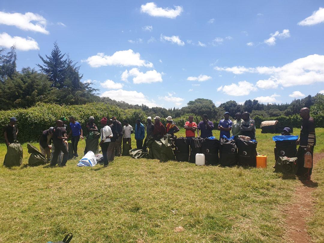FA mountain crew Kilimanjaro