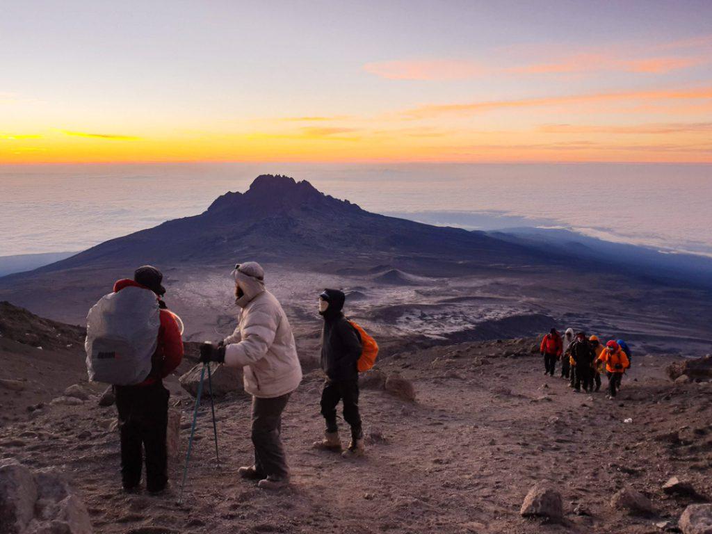 Kilimanjaro summit day