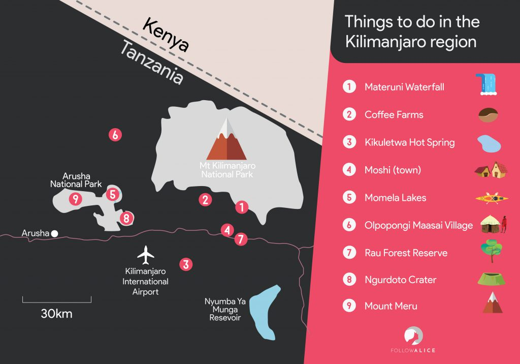 Things to do in Kilimanjaro region Tanzania