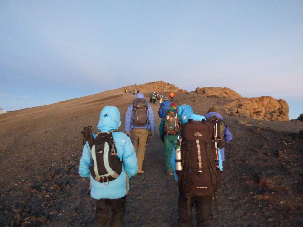 Kilimanjaro hiking to the summit jackets with hoods