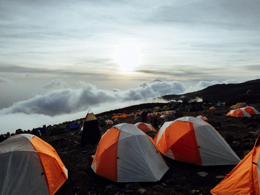 Kilimanjaro camp tents