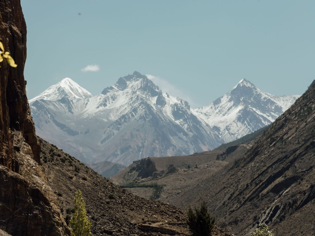 Annapurna mountain view