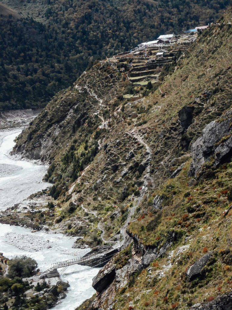 Views of the Best time to trek Everest Base Camp
