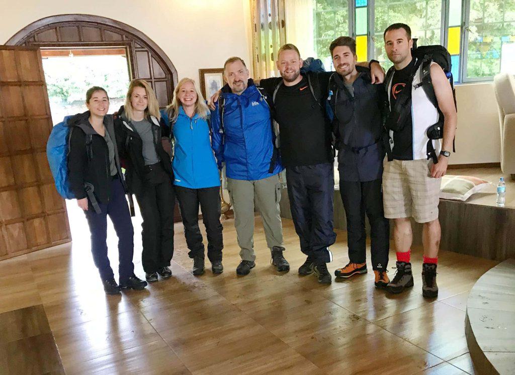 Group Photo Kilimanjaro Start Kilimanjaro Climb