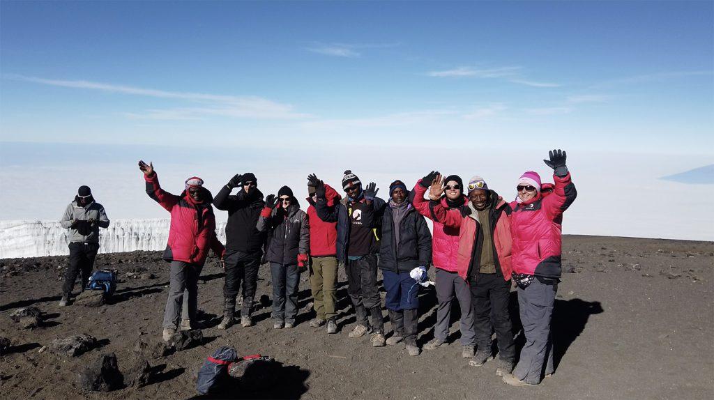 Tash summit Kilimanjaro