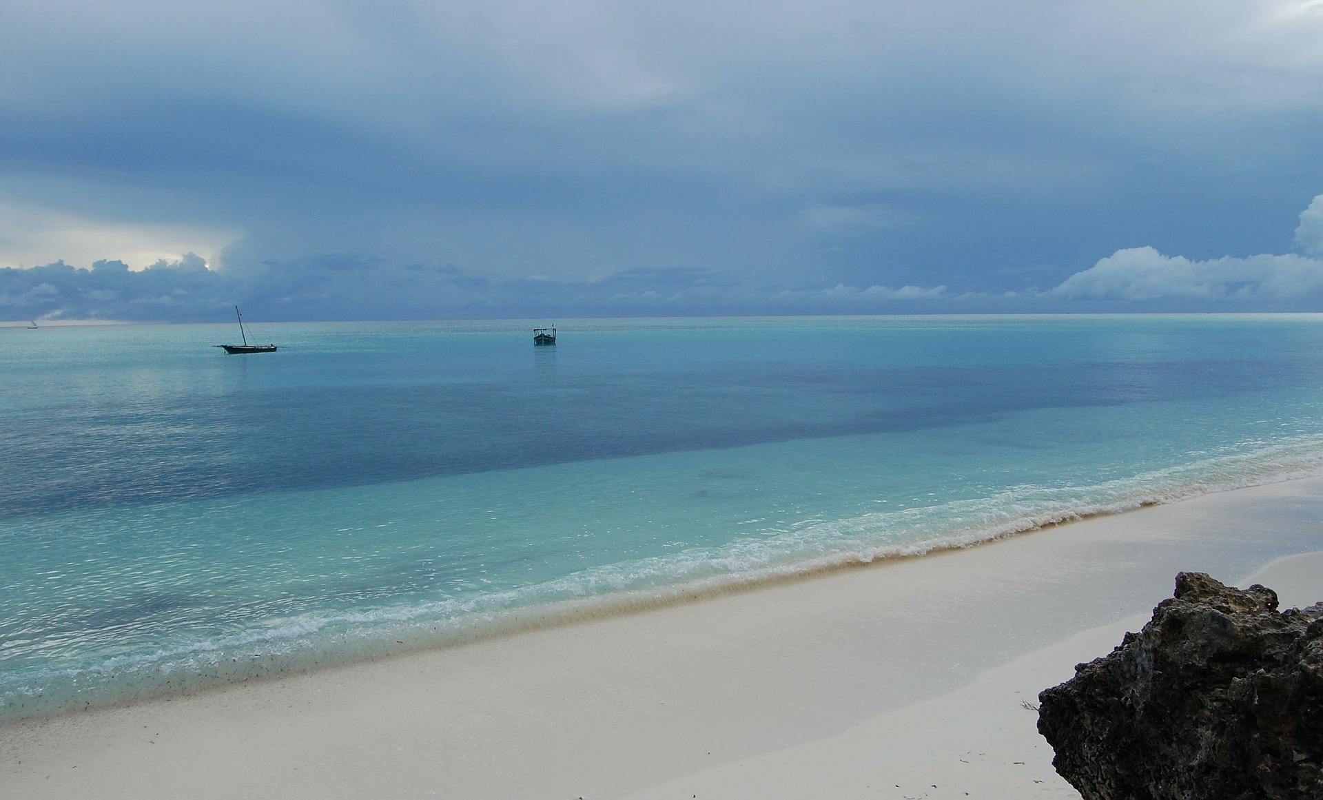 The stunning untouched beaches of Zanzibar are perfect for snorkelling
