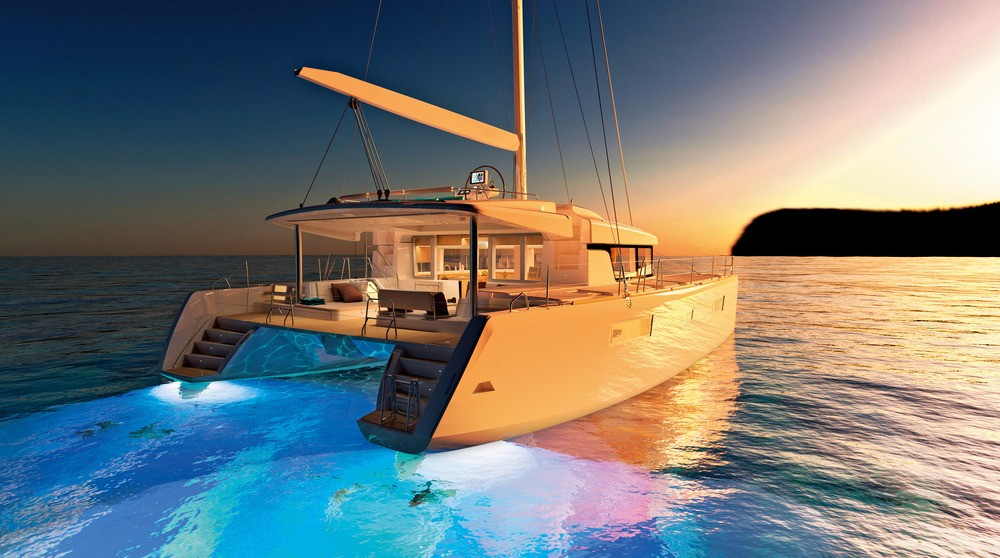 Your beautiful catamaran for the week