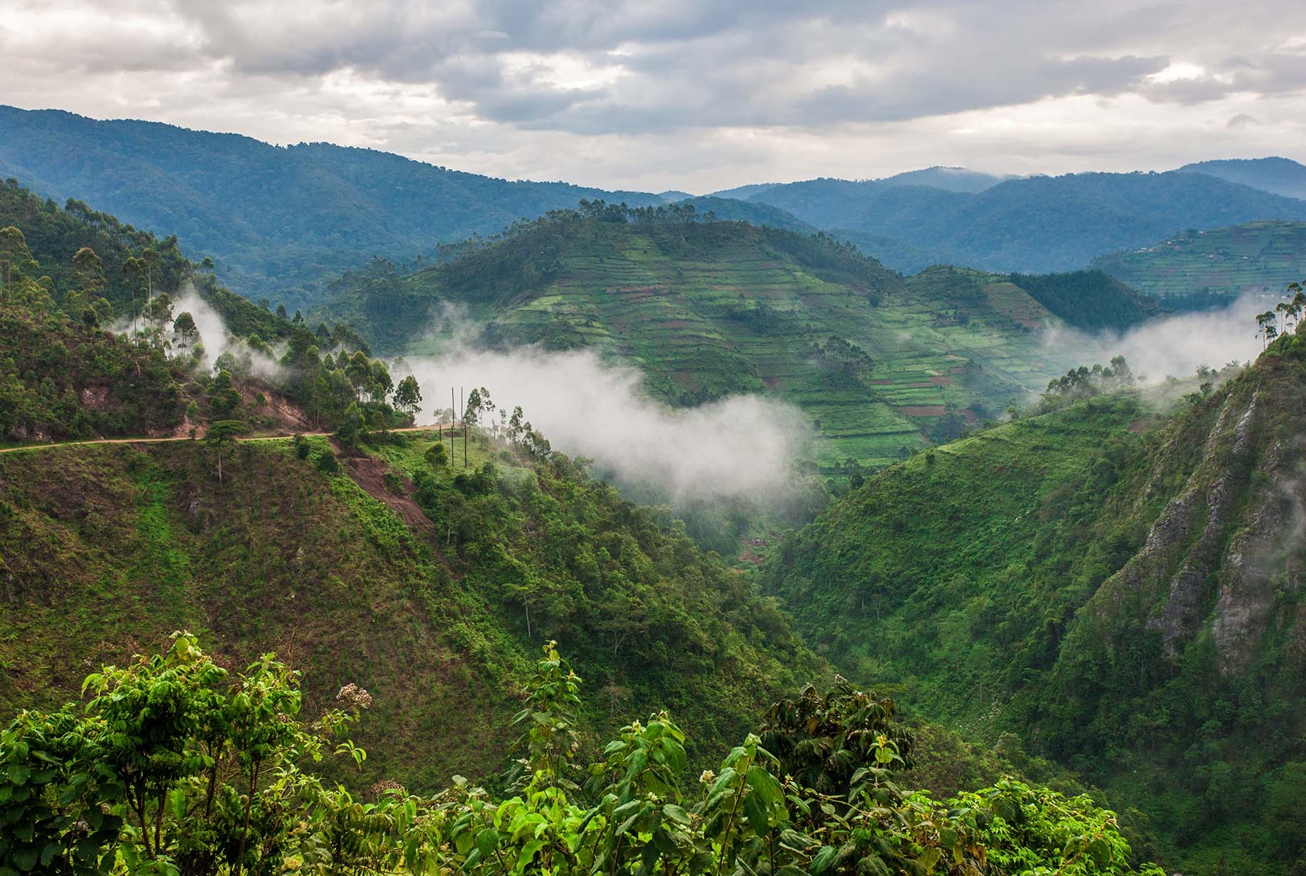 The scenery in Uganda won't ever fail to take your breath away