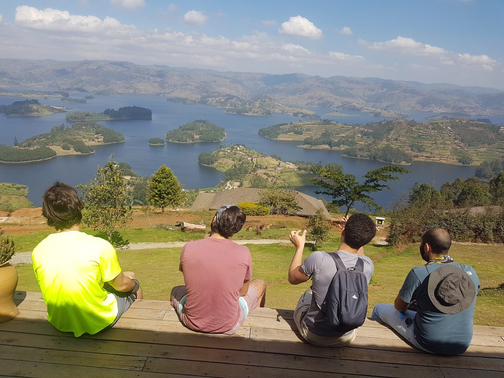View over Lake Bunyonyi