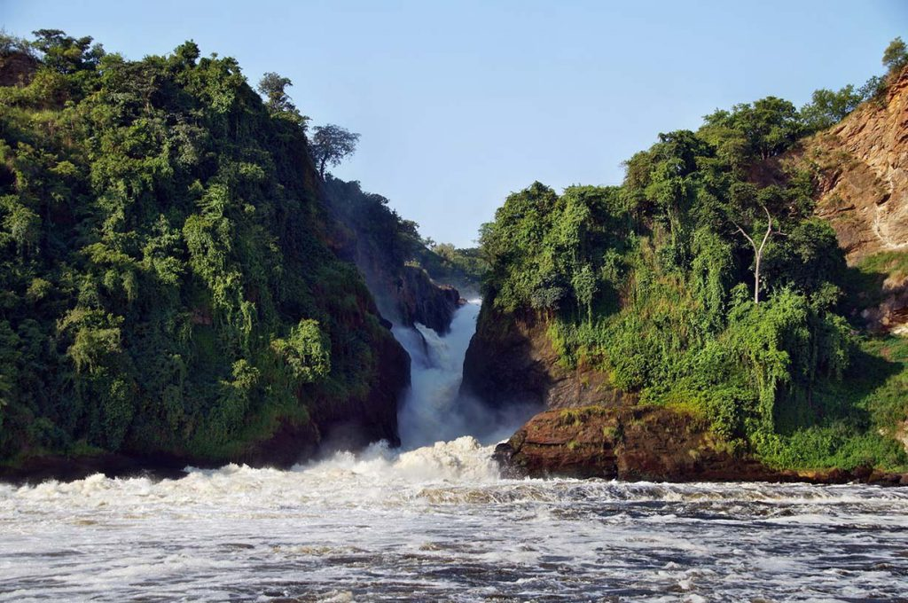 Murchison Falls on the Nile River