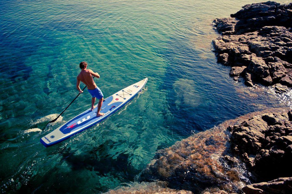 SUP in Sardinia