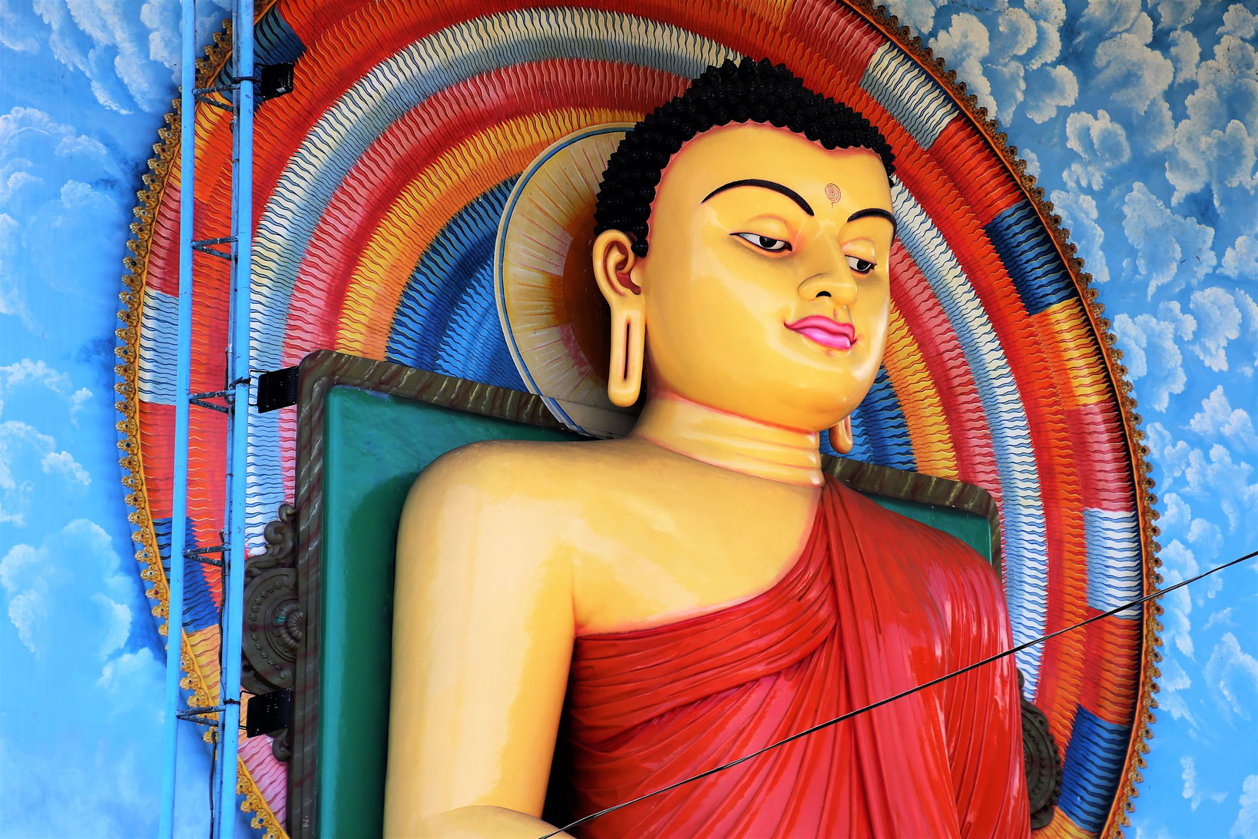 Buddhism is Sri Lanka's predominant faith