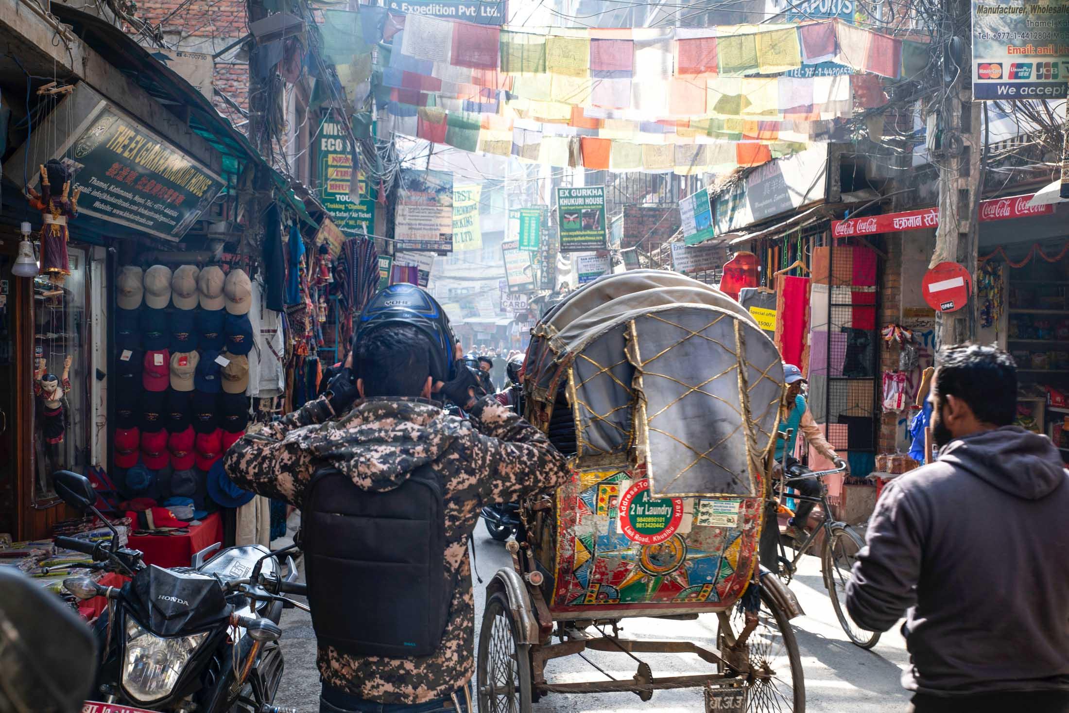 Kathmandu Streets Nepal