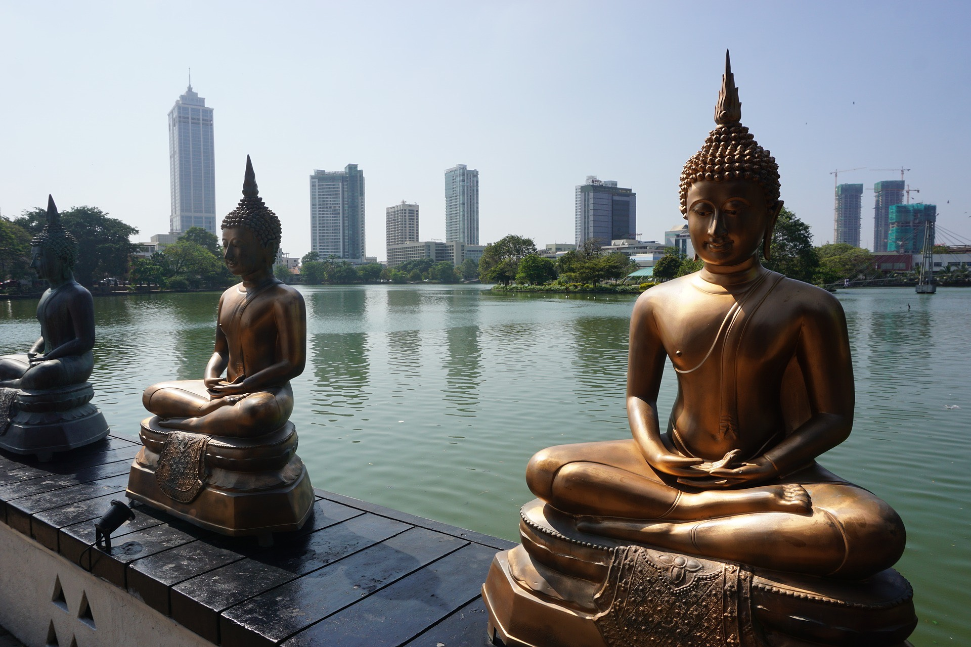 Colombo is Sri Lanka's vibrant capital city