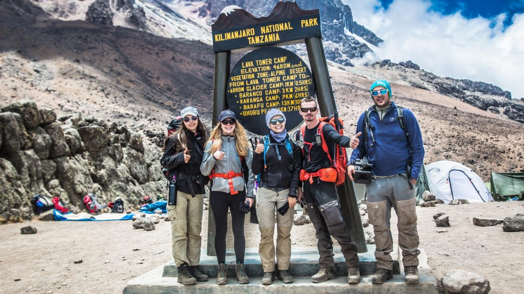 Follow Alice team at the Kilimanjaro lava tower