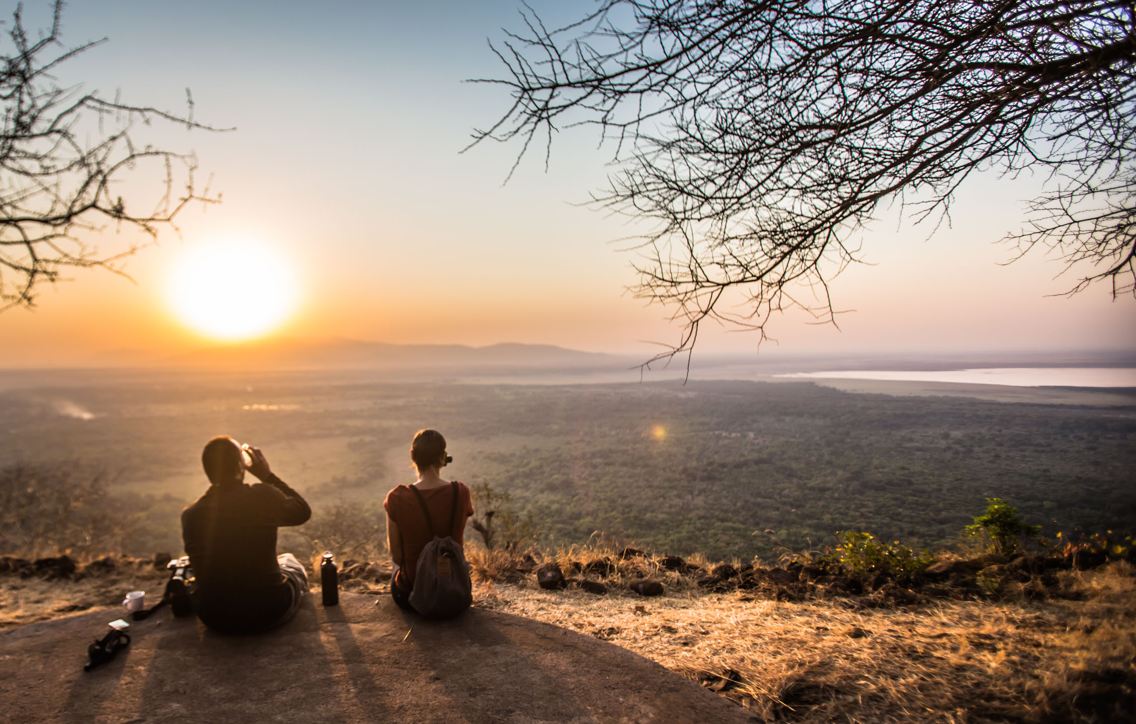 Stunning views over Lake Manyara