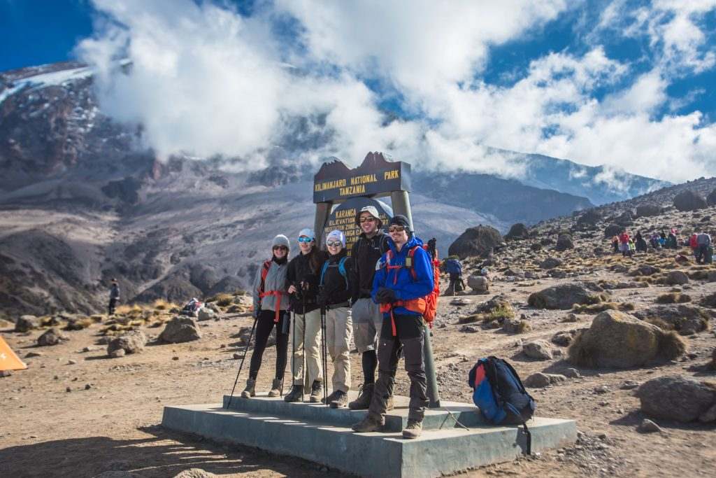 Group on the Best time to climb Kilimanjaro