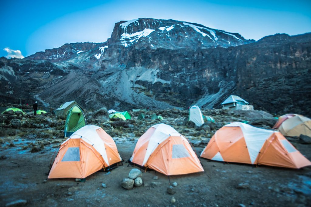 Research the sort of camping setup offered by the Kilimanjaro tour operator you're looking to book with