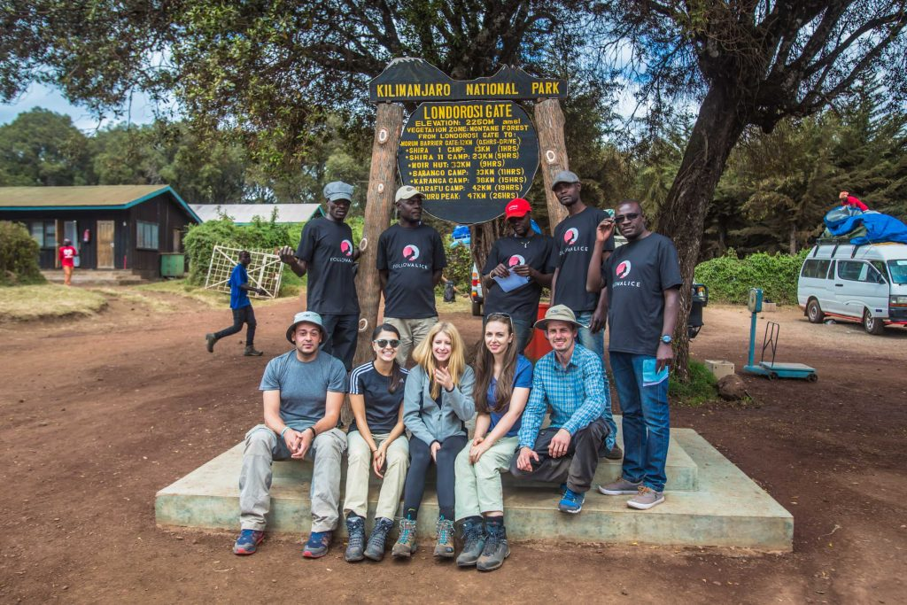 Follow Alice team climb Kilimanjaro