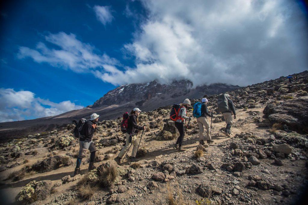 Climbing Kilimanjaro via Machame Route