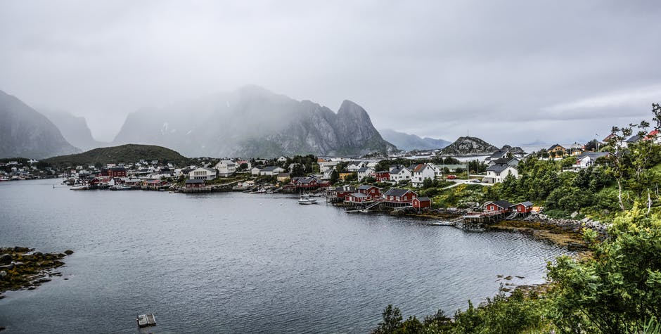 Breathtaking view of the Lofoten Islands