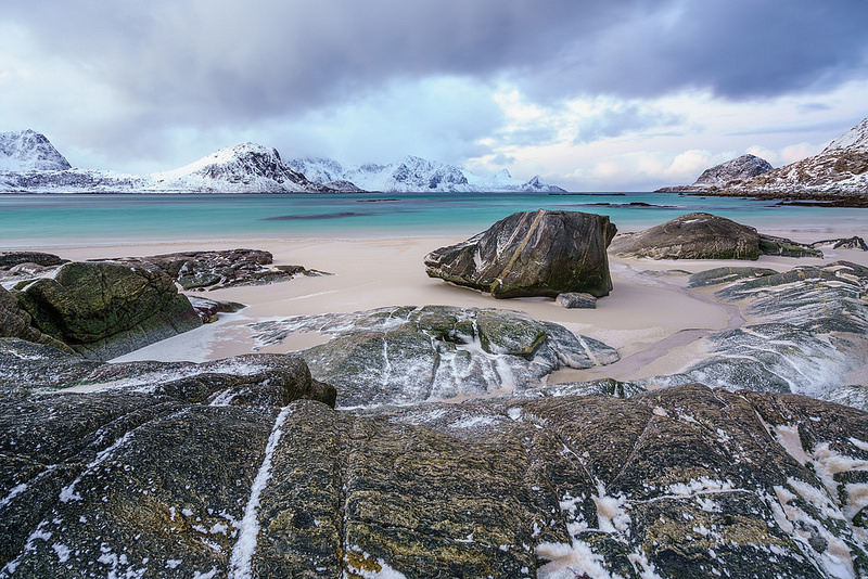 Haukland Beach, Lofoten Islands