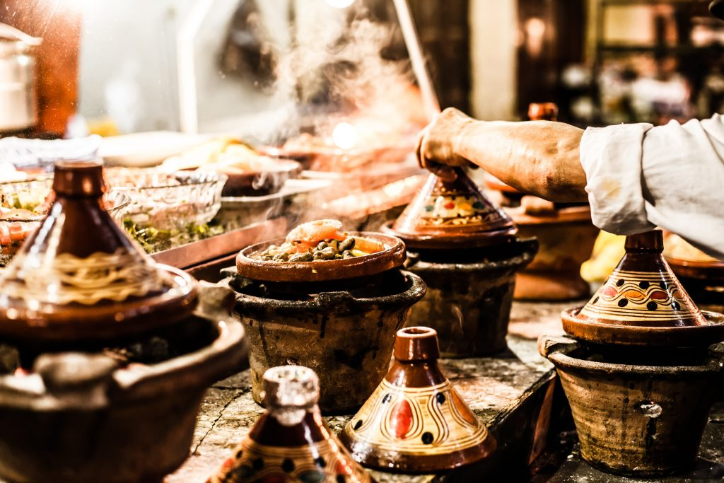 The delicious food is an important part of Moroccan culture