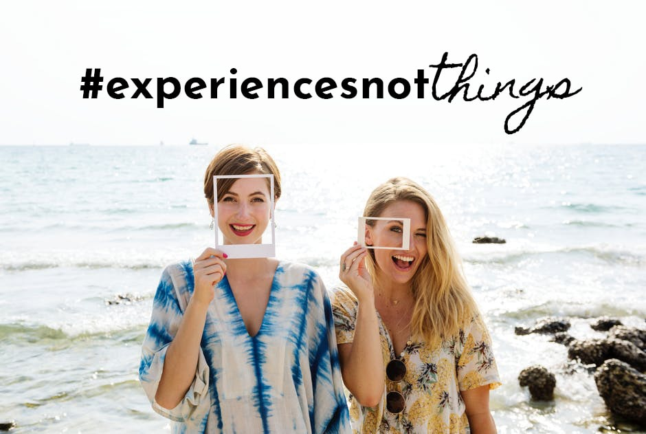Why experiences are better gifts than things