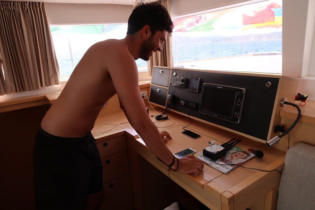 Captain sailing week Sardinia and Corsica