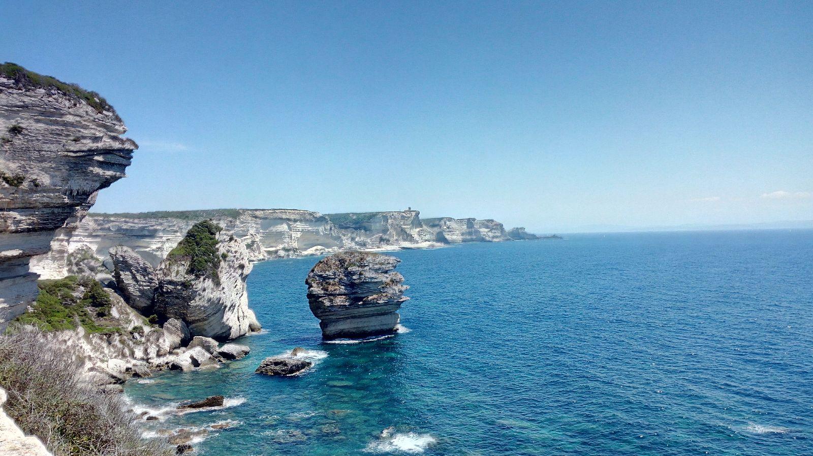 Rugged Sardinia coastline
