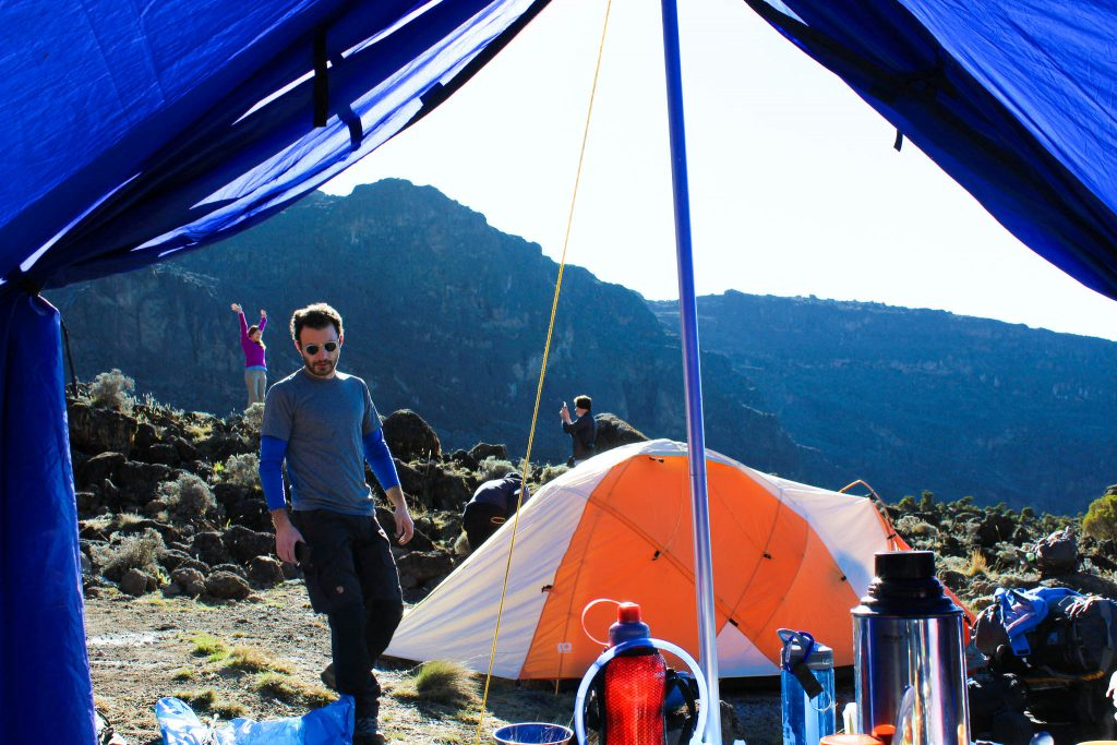 Kilimanjaro cost includes the campsite