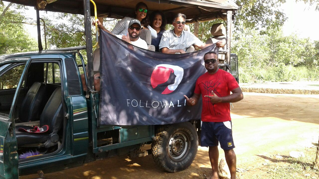 Follow Alice team in Sri Lanka