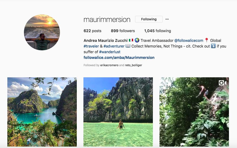Ambassador Andrea's Instagram