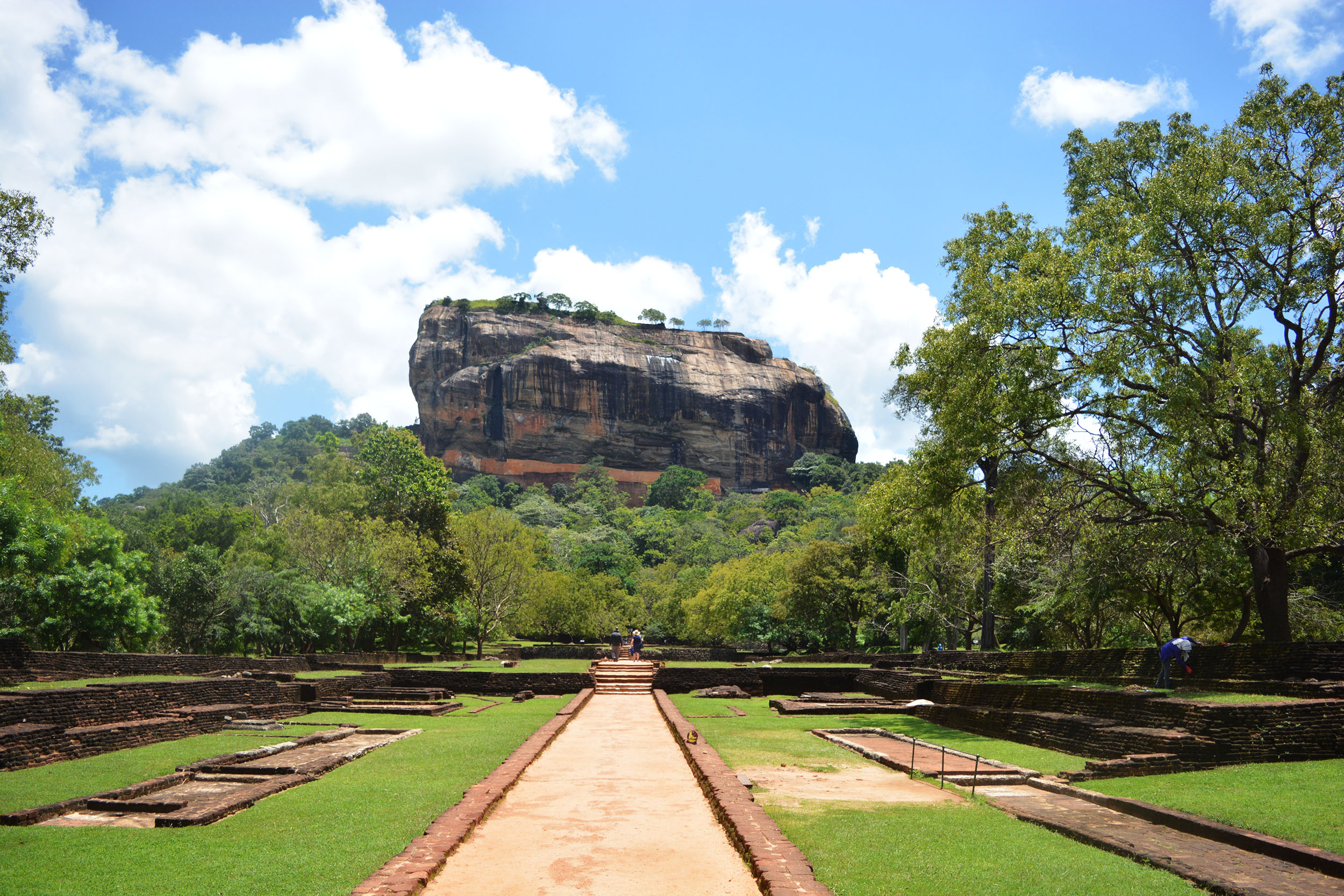Climb Sigiriya, known as the 'eighth wonder of the world'