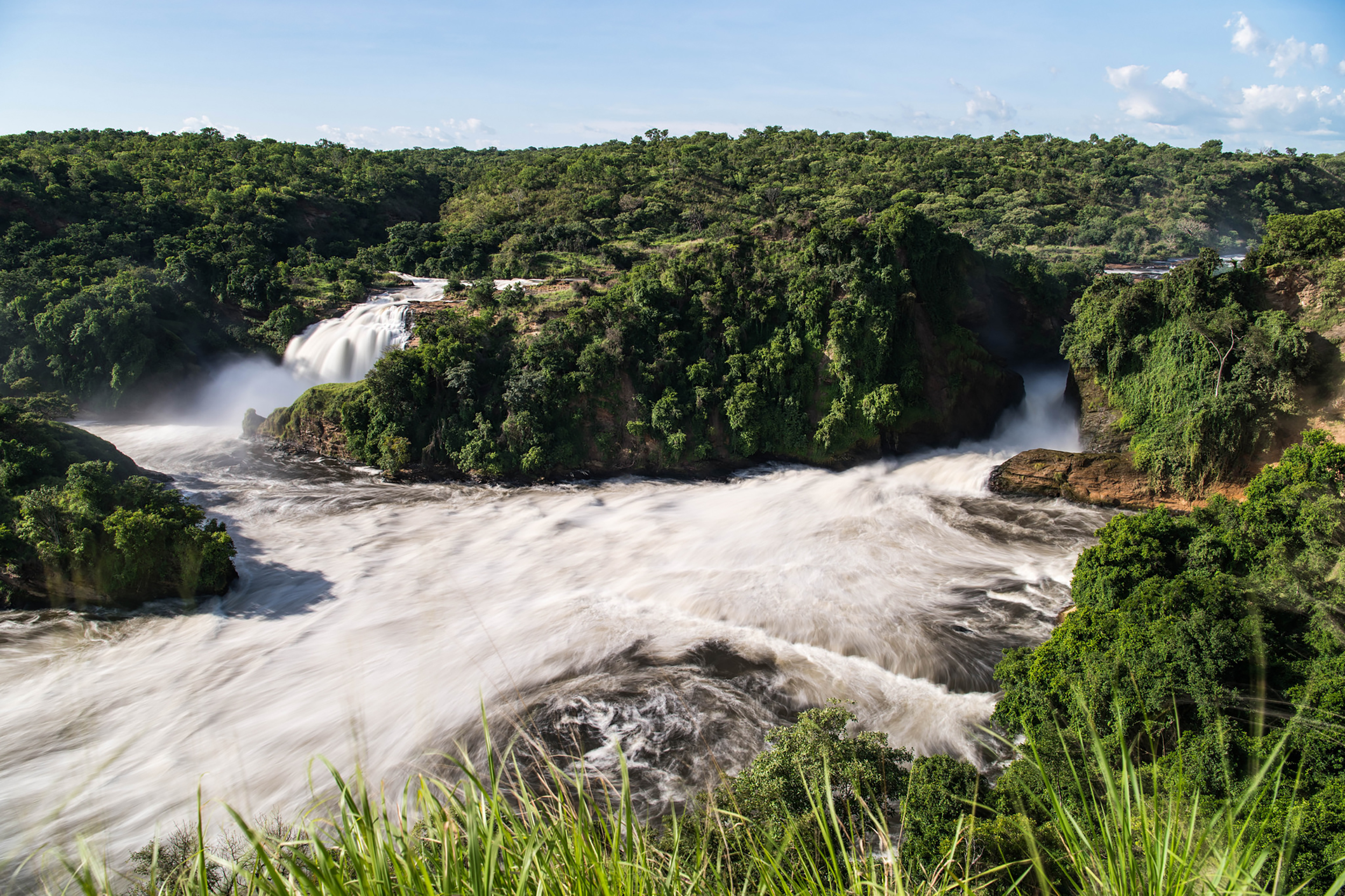 Stunning views over Murchison Falls
