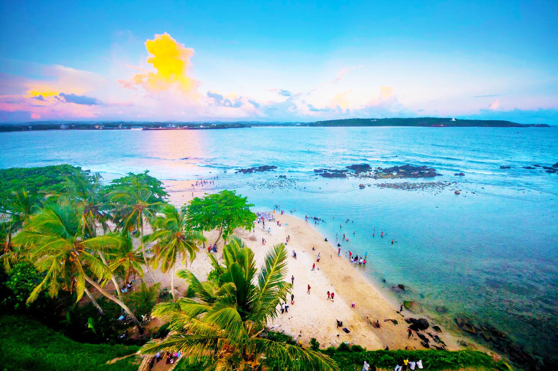 Celebrate on the beautiful South Coast beaches of Sri Lanka