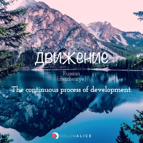 Follow Alice travel quotes - движение