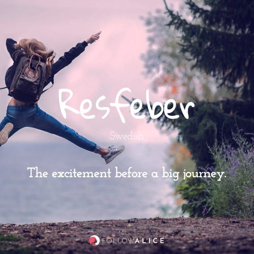 Follow Alice travel quotes - Resfeber