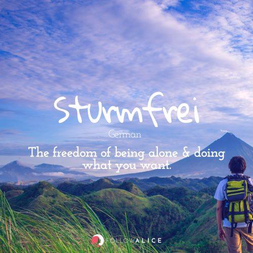 Follow Alice travel quotes - Sturmfrei