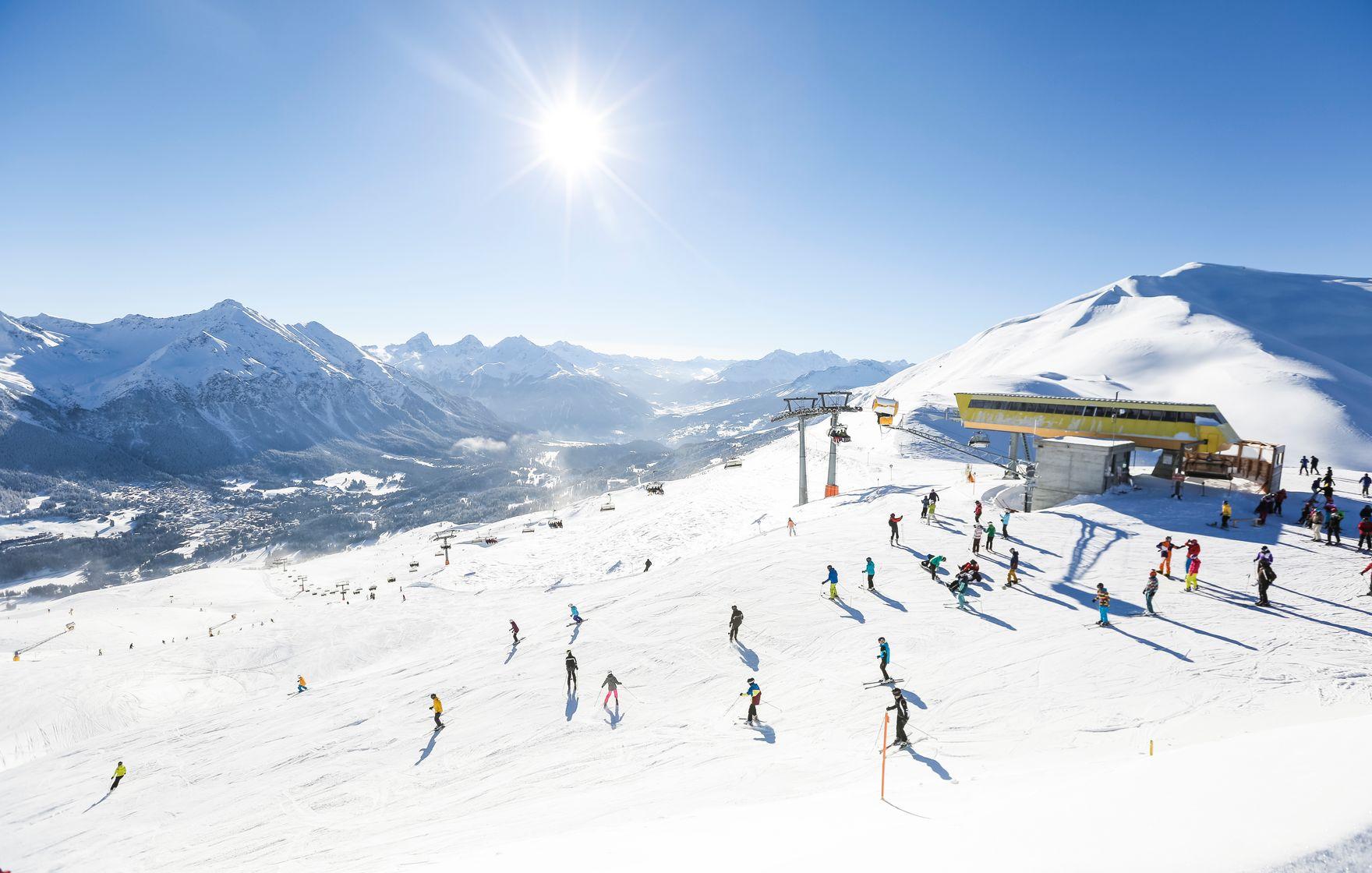 Lenzerheide ski slope