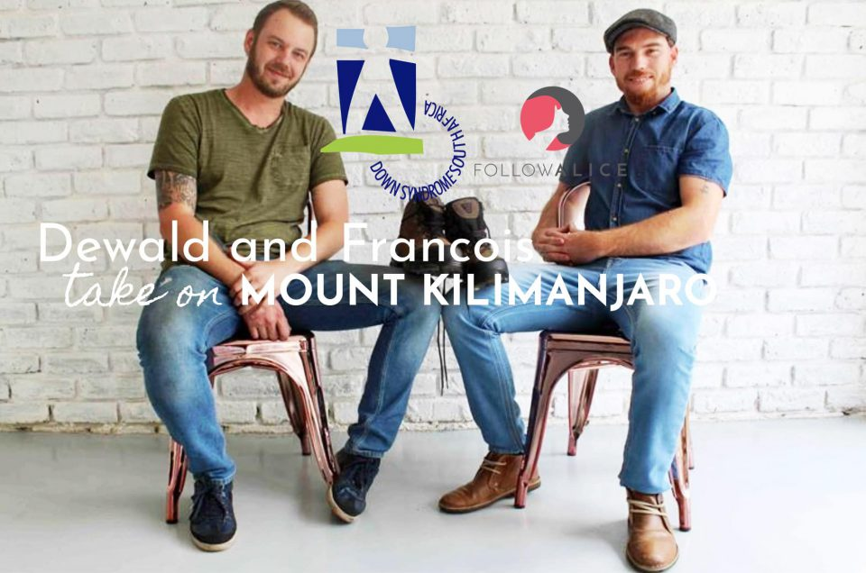 Dewald and Francois take on Mount Kilimanjaro