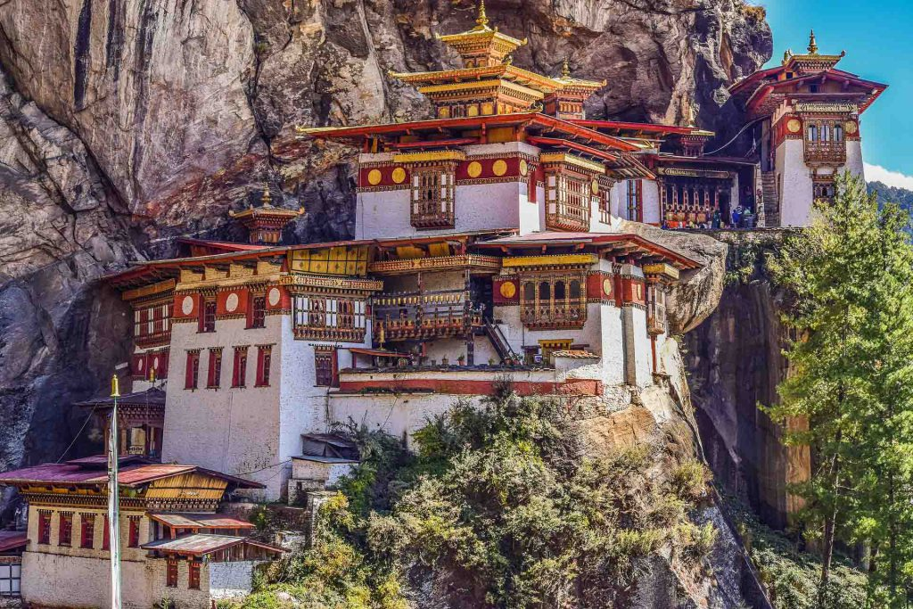 Adventure outing to Tiger's Nest in Bhutan