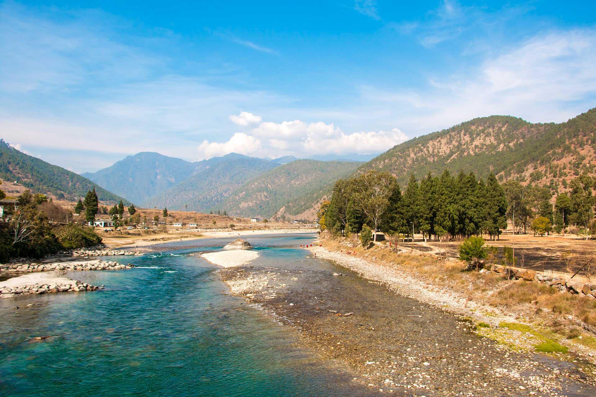River view Bhutan