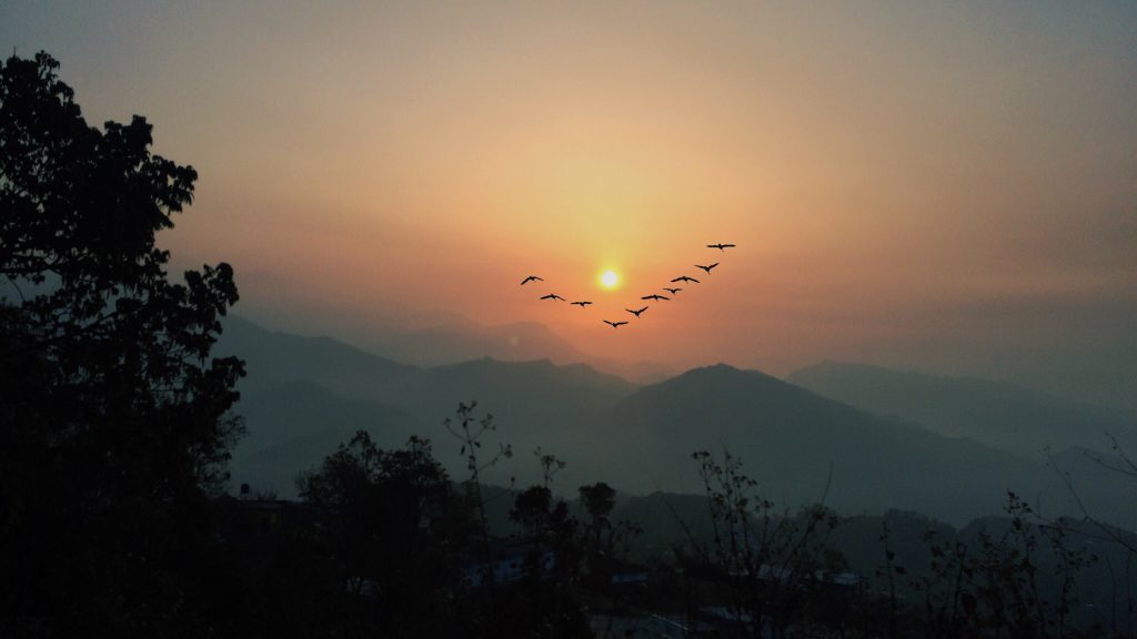 Sunset from Everest Base Camp
