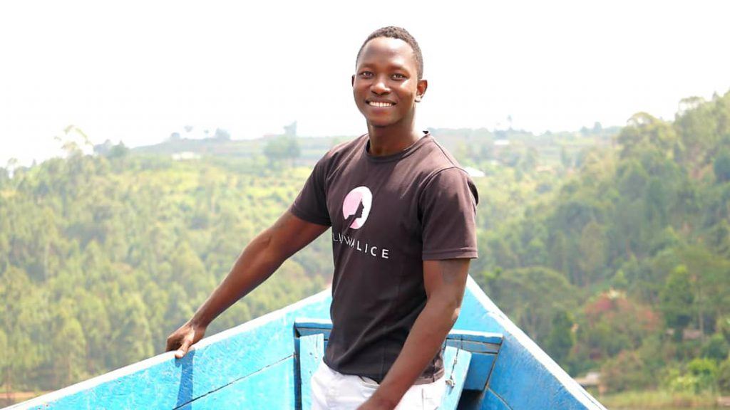 Dan with scenery in Uganda