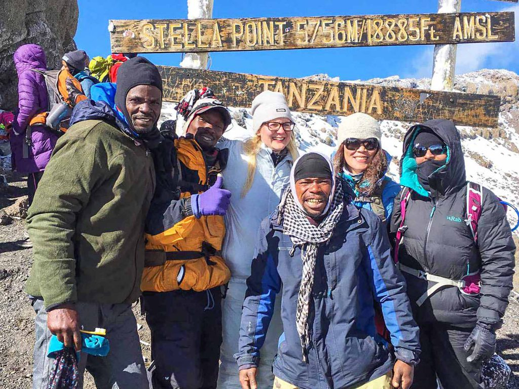 Stella Point on Kilimanjaro - adventure trip 2020 idea